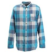 MOTHERFLY フランネル チェックシャツ 長袖 19FWEQYWT03918BRN1
