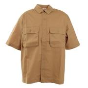 DOUBLE ポケット半袖シャツ sl2021ss007-BEG