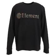 Tシャツ メンズ 長袖 HORIZONTAL AJ022050 BLK オンライン価格