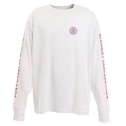 Tシャツ メンズ 長袖 CHROME ビッグ AJ022061 WHT オンライン価格