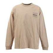 Tシャツ メンズ 長袖 ボタニカルフォトプリント 0323132-35BEI