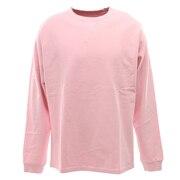 PIGMENT 長袖Tシャツ SV-20SSAP002-PNK