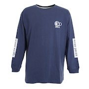 グラフィックロゴ 長袖Tシャツ 530077NVY