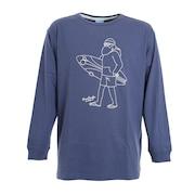 グラフィック 長袖Tシャツ 530079NVY