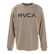 BIG RVCA ロングスリーブTシャツ BA042054 KHA