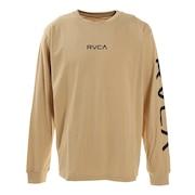 SMALL RVCA ロングスリーブTシャツ BA042055 BEG