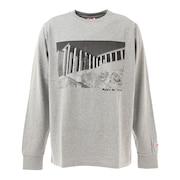PHOTO ロングスリーブシャツ sl2020aw004-grey