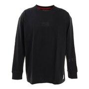 Tシャツ メンズ 長袖  869R1CD6238 BLK