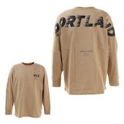 Tシャツ メンズ 長袖 WHEEL 869R1CD6260 BEG