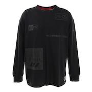 Tシャツ メンズ 長袖 REFLECTOR ICONS 869R1CD6261 BLK