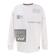 Tシャツ メンズ 長袖 REFLECTOR ICONS 869R1CD6261 WHT
