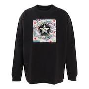 オールドボックスロゴ 長袖Tシャツ 217163 BLK