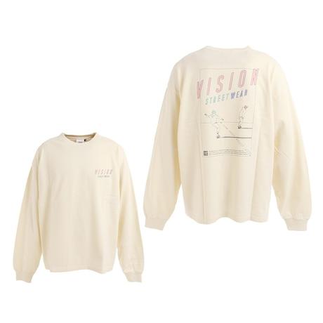 Tシャツ メンズ 長袖 ロードイラスト 705032-06 OFF