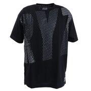 Tシャツ 半袖 DOT SCRIPT BIG Tシャツ 869R0EG3215 BLK オンライン価格