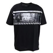 tシャツ   半袖  PHOTO BIG Tシャツ 869R0EG3217 BLK オンライン価格