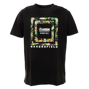 Tシャツ メンズ 半袖 ボックスグラフィック ABO9AW1285 BLK オンライン価格