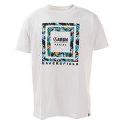 Tシャツ メンズ 半袖 ボックスグラフィック Tシャツ ABO9AW1285 WT/GR オンライン価格