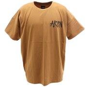 Tシャツ メンズ 半袖 バックプリント SSAIRB-O003BEG/BLK オンライン価格