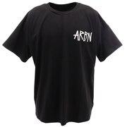Tシャツ メンズ 半袖 バックプリント SSAIRB-O003BLK/WHT オンライン価格