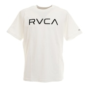 BIG RVCA 半袖Tシャツ BA041249 WHT