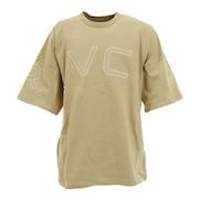 FAKE RVCA 半袖Tシャツ BA041254 TAN オンライン価格