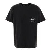 ポケット半袖Tシャツ RF20SP-1003SS-BLK