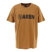 ロゴTシャツ SSAIRB-O002BEG/BLK