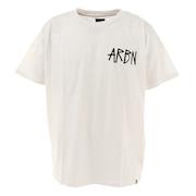 バックプリントTシャツ SSAIRB-O003WHT/BLK