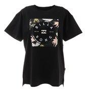 スクエアロゴTシャツ BB013203 BLK
