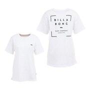 ショートスリーブ バックプリントTシャツ BB013225 WHT