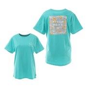 ショートスリーブ バックプリントTシャツ BB013224 GMH