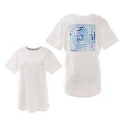 ショートスリーブ バックプリントTシャツ BB013224 WHT