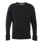 ワッフルクルーネックTシャツ 871PA0ES7061BLK