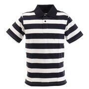 リブ襟 半袖ポロシャツ 871PA0BGI3137WHXNV
