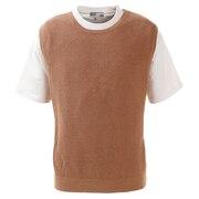 ニットベスト Tシャツセット 871PA0HO3316BEG