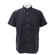 リネン半袖シャツ 871PA9EG6331NVY オンライン価格