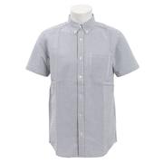 シアサッカー半袖シャツ 871PA9EG6332GRY オンライン価格