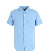 リネンミックスシャツ 871PA1CG6315SAX