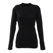 ハイゲージリブ編みセーター 872PA0CG7084BLK