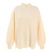 畦編みセーター 872PA0CG7085OWHT