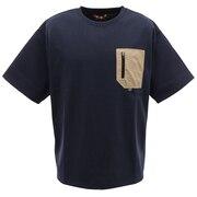 ピュアドライエコポケットTシャツ 0512111-60 NAV