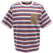 ピュアドライエコボーダーTシャツ 0512112-06 OFF