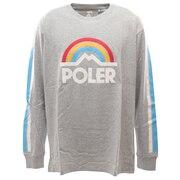 MT RAINBOW 長袖Tシャツ 55200038-GRYL