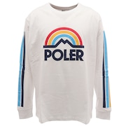 MOUNTAIN RAINBOW 長袖Tシャツ 55200038-WHTM