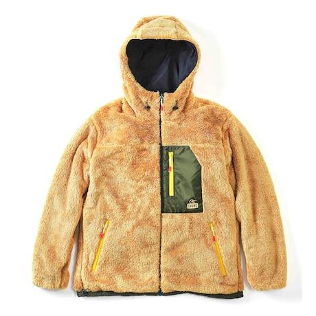 ボア ジャケット ルームウェア もこもこ 冬 フリース リバーシブル エルモ ゴアテックス インフィニアム リバーシブル フーディー CH04-1252-K001