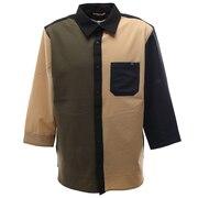 クイックドライストレッチ 7分袖シャツジャケット 0512122-81 B