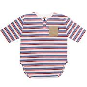 ボーダースキッパーTシャツ 0512509-06 OFF