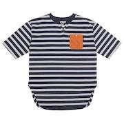 ボーダースキッパーTシャツ 0512509-60 NAV