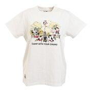 キャンプウィズユアチャムス 半袖Tシャツ CH11-1708-W001