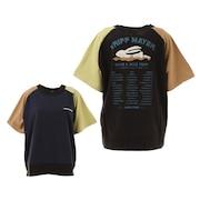 抗菌バックプリントロゴ半袖Tシャツ TRIP 2047212L-90:MULTI-COL